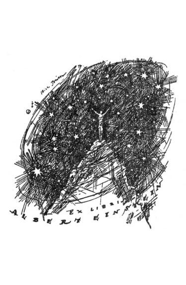 Картинка: Экслибрис Альберта Эйнштейна