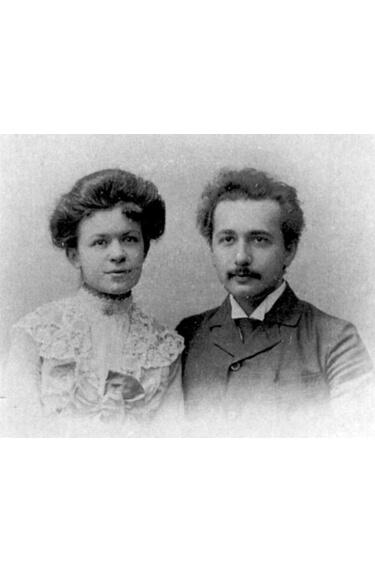 Картинка: Альберт Эйнштейн и Милева Марич