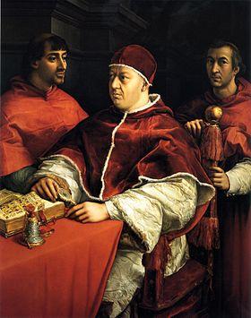 Картинка: Папа Лев X