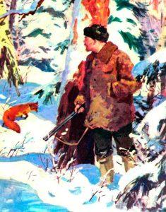 Картинка: Охота Ленина на лису