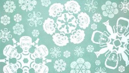 Картинка: Снежинки