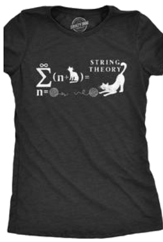 Pic.: Advertising. Cat String Theory