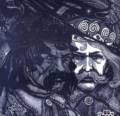 Картинка: Чернобог и белобог